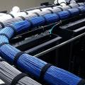 Instalação de cabos de rede