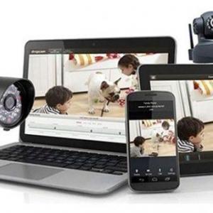 Instalação de cameras de monitoramento